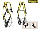 Arnés STEELSAFE-2 con enganche dorsal y frontal. 1888-ABF