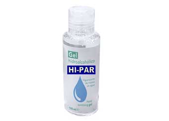 Gel Hidroalcoholico Portatil 100 ml higienizante de manos.