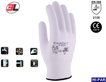 Guante CONTACT 100% nylon sin costuras. S-2001 N