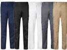 Pantalon multibolsillos slim fit 103025